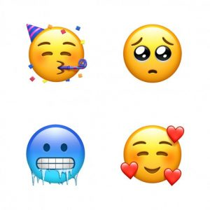 Emojis caras