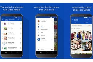 OneDrive se actualiza para Android