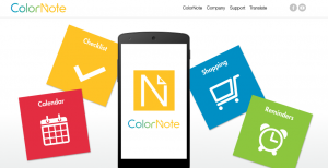 ColorNote para Android