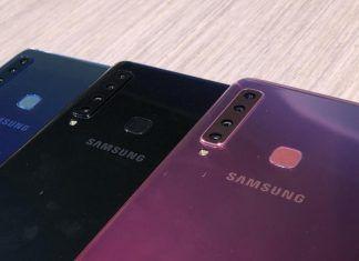 El smartphone de Samsung con cuatro cámaras
