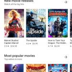 Google Play se actualiza con nueva interfaz