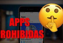 apps prohibidas